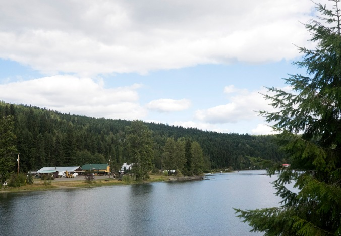 Downtown Likely on Quesnel Lake