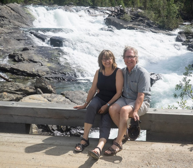 The codgers at the Matthew Falls