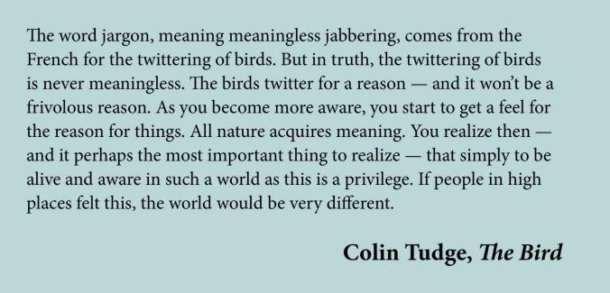 Colin Tudge quote