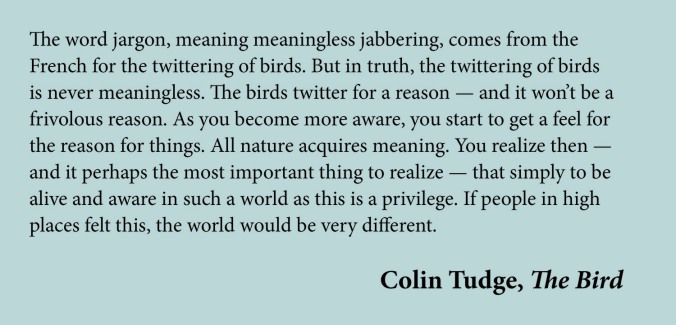 Colin Tudge quote