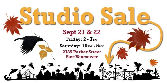 September studio sale 2018 LEAVES