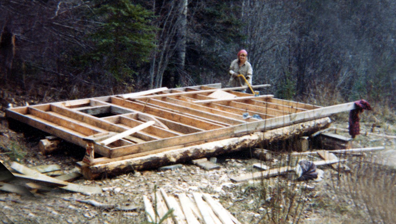 cabinbuilding june